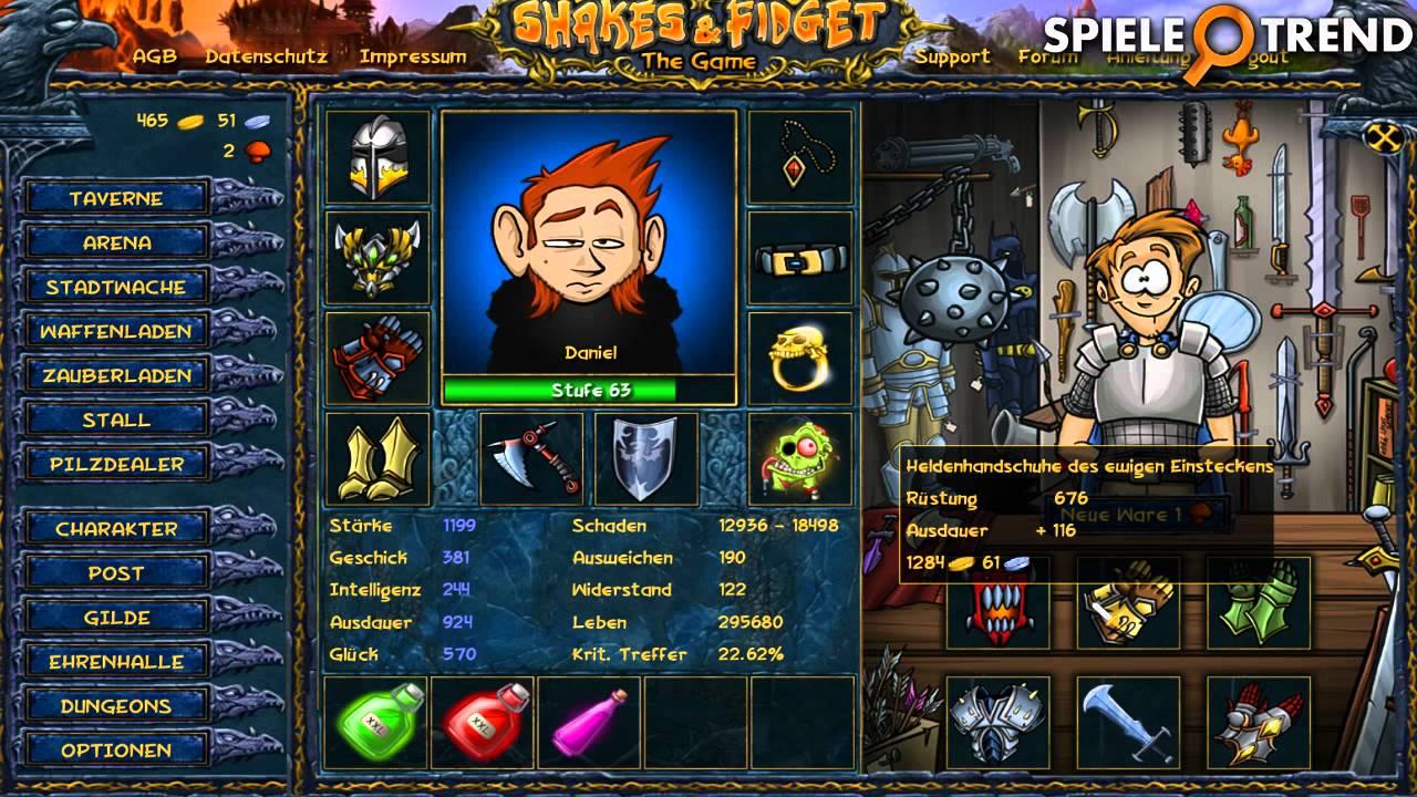 Shakes And Fidget Г¤hnliche Spiele
