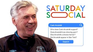 Carlo Ancelotti Answers the Web's Most Searched Questions About Him | Autocomplete Challenge