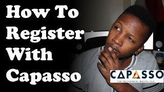 How To Register With Capasso Online