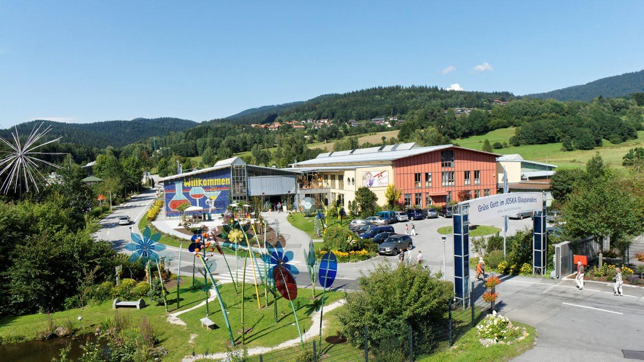 Joska Glasparadies In Bodenmais Bayerischer Wald Rundgang Youtube