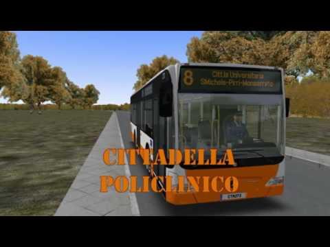 OMSI 2 Cagliari Map in lavorazione YouTube