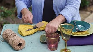 Easy Wow with Buffy Hargett: Thanksgiving Table Setting | Southern Living