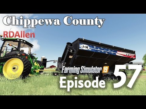Stole The Millennial Farmer's Grain Cart | E57 Chippewa County | Farming Simulator 19