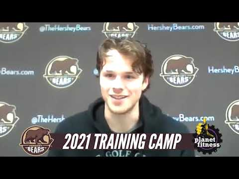 Lucas Johansen Training Camp Media Availability