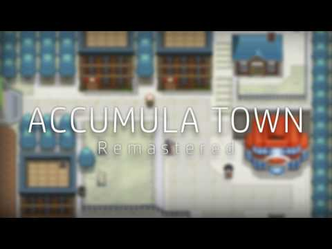 Pokemon B&W: Accumula Town (Remastered)