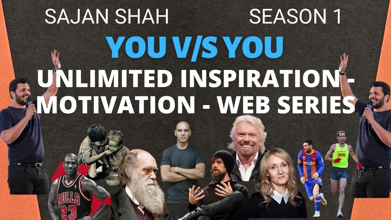 Unlimited Motivation - Web Series: You v/s You| FIRST LOOK | Hindi | Motivational Video | Sajan Shah