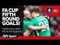 FA Cup Fifth Round: Watch every goal from the weekend