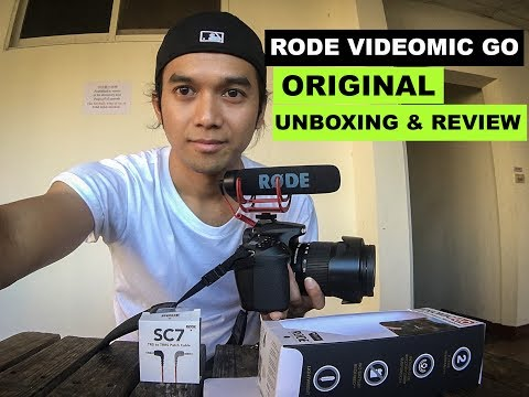 RODE VIDEOMIC GO for DSLR,Mirrorless,smartphone UNBOXING & REVIEW