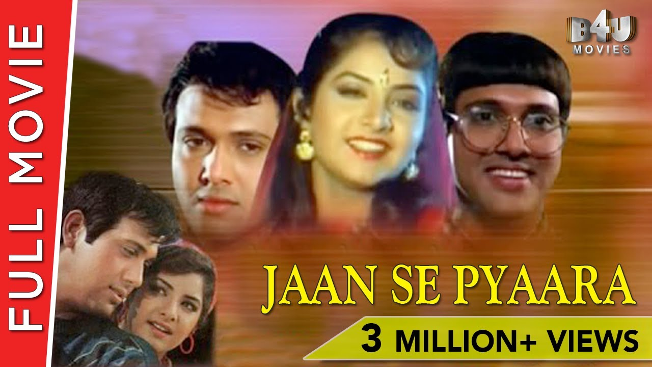 Jaan Se Pyara 1992 | Full Hindi Movie | Govinda, Divya Bharti | Full HD 1080p