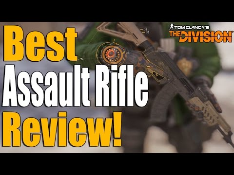 The Division - REVIEW OF THE BEST HIGH END ASSAULT RIFLE! (Black Market AK-74)