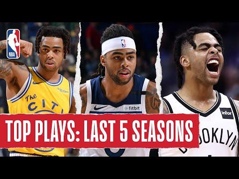 D'Angelo Russell's TOP PLAYS | Last 5 Seasons