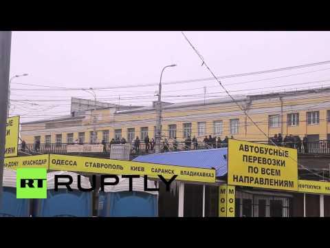 Russia: Rescue services flock to site of Volgograd bomb blast