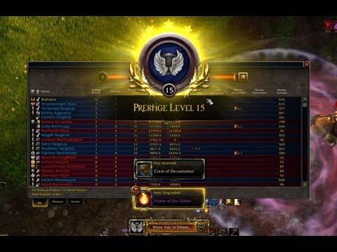 Bajheera - PRESTIGE 15 DING & Video Editor Discussion - WoW Legion 7.3 Warrior PvP