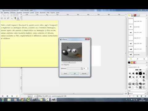 Gimp Tutorial - Migliorare la nitidezza di una foto - How to sharpen from YouTube · Duration:  1 minutes 15 seconds