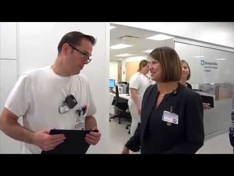 Leadership Rounding at Cleveland Clinic