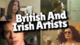 Top 50 Most Viewed Songs By British And Irish Artists - AUGUST 2021!