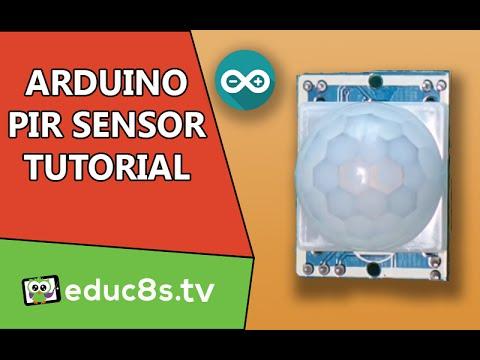 Arduino PIR sensor tutorial