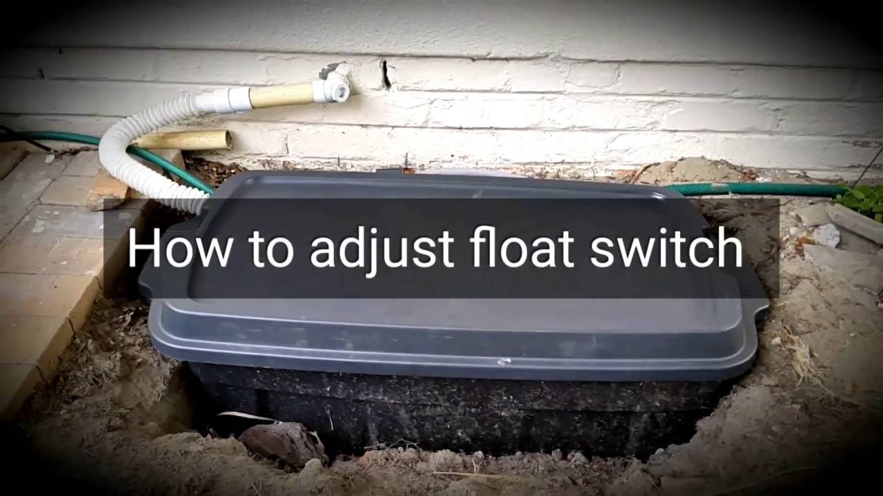 4 How To Adjust Submersible Pump Tethered Float Switch Youtube Do You The Pressure On A Well