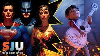 Will Justice League Beat Pixar's Coco this Weekend? - SJU