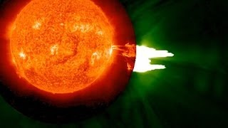 Raw: NASA Captures Solar Flare