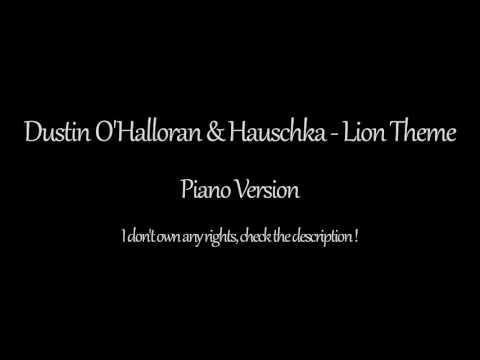 Dustin O'Halloran & Hauschka - Lion - Piano Theme Song (1 Hour)