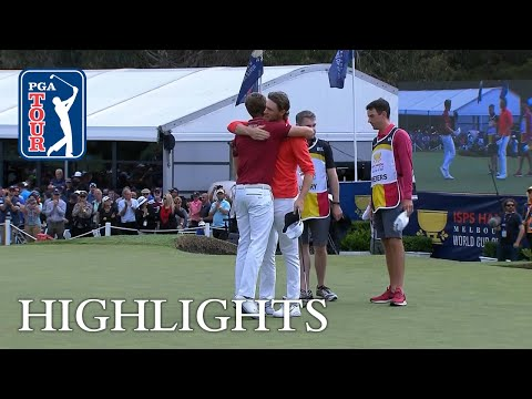 World Cup of Golf Highlights | Round 4 | ISPS Handa