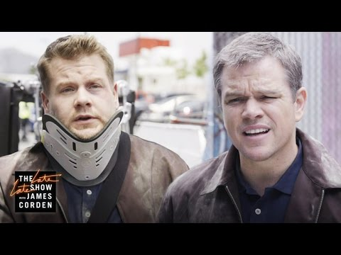 'Jason Bourne' Stunt Double w/ Matt Damon fragman