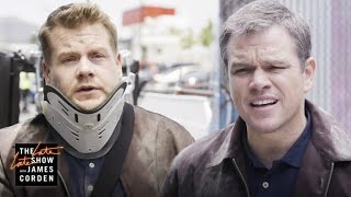 'Jason Bourne' Stunt Double w/ Matt Damon