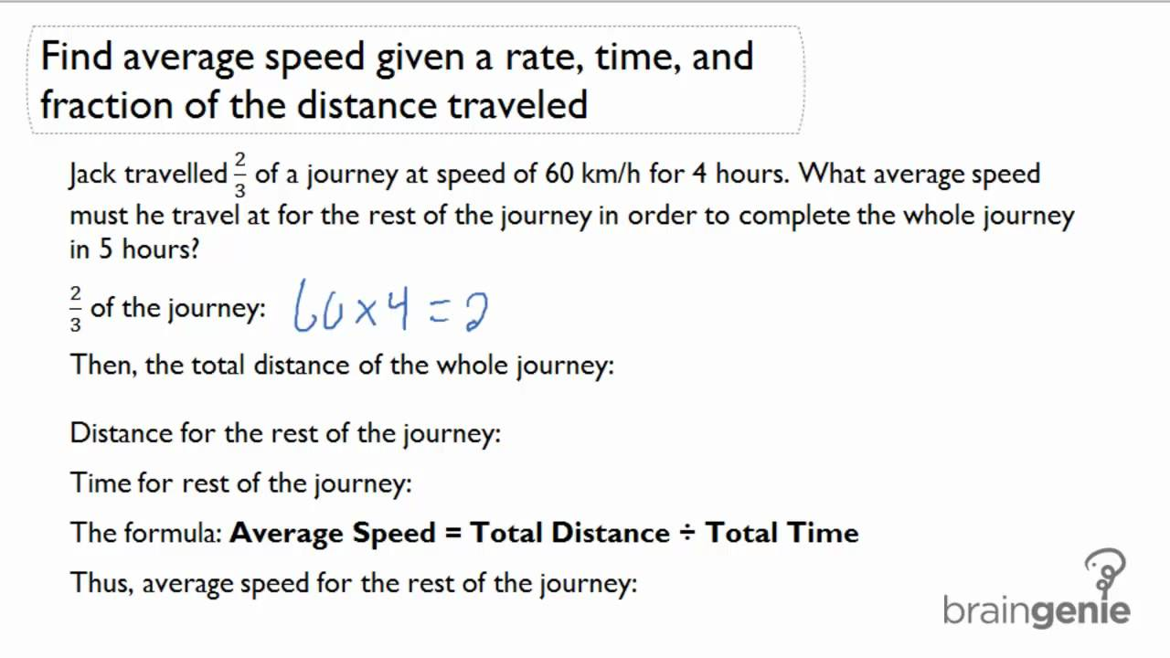 Worksheets Distance Rate Time Word Problems Worksheet 2 1 4 find average speed given a rate time and fraction of distance word problem