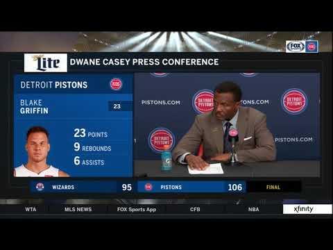 Pistons LIVE 12.26.18: Dwane Casey