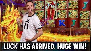 👼 LUCK has ARRIVED ⛵ HUGE Bonus Win on Fu Nan Fu Nu!