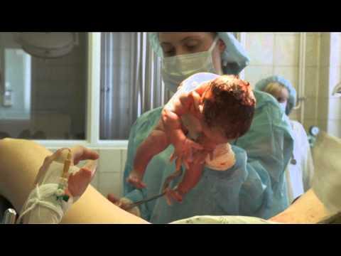 Как рожают женщины детей