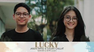 Download Lucky  - Jason Mraz, Cobie Caillat (Astri, Adikara, Andri Guitara) Mp3