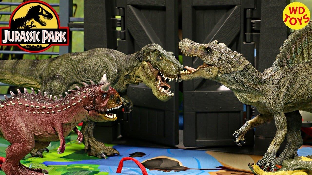 New Schleich Dinosaur Volcano Playmat Set With Spinosaurus