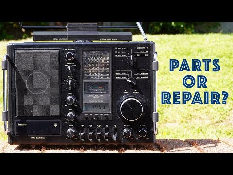 Parts Or Repair? - Philips AL990 Shortwave Radio