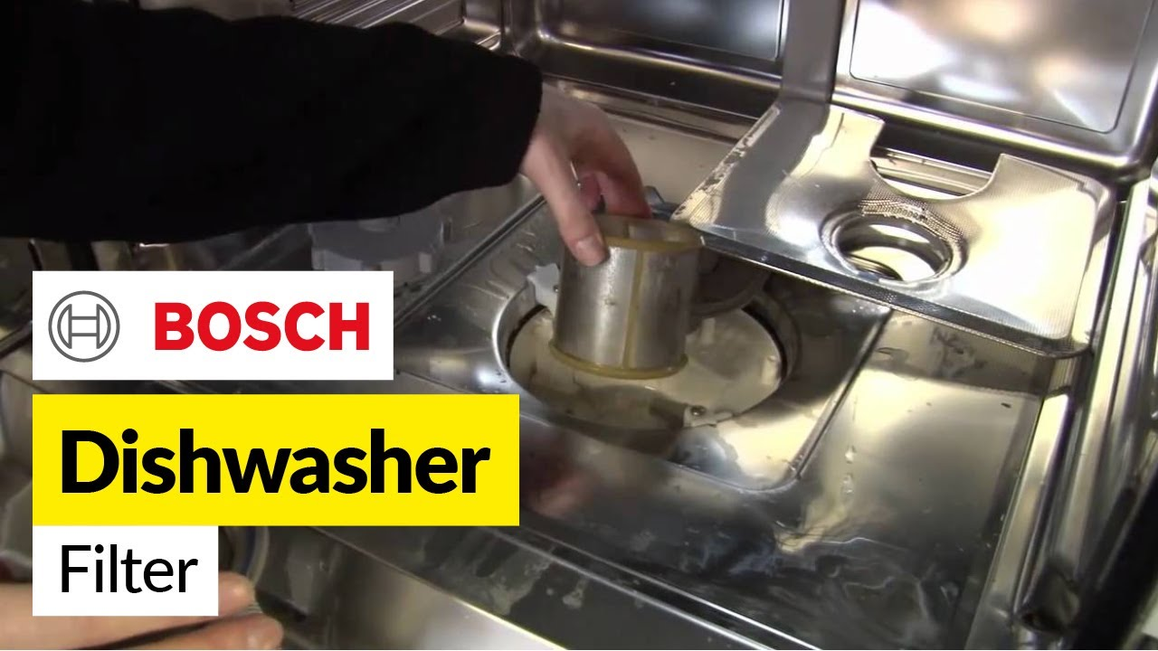 How To Replace Bosch Dishwasher Filters On A Bosch