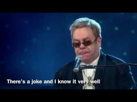 【Lyrics】Elton John - Madman Across the Water (60 Live At Madison Square Garden)