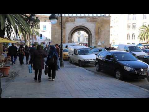 Tunisie Tunis Centre ville / Tunisia Tunis City center