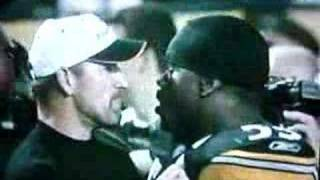 Bill Cowher and Joey Porter Get IT ON!