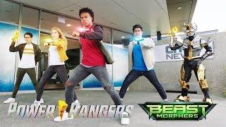 Power Rangers Official   Ranger Identities   Power Rangers Beast Morphers Episode 17 Ranger Reveal