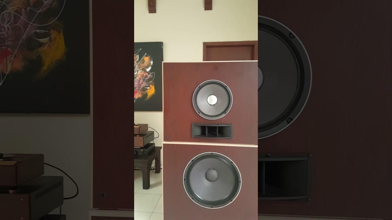 DIY 3 ways Fostex Open Baffle speaker