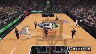 NBA 2K15 PC Gameplay: Brooklyn Nets vs Portland Trailblazers (60 FPS)