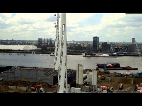 Emirates Air Line Cable Car FULL VIDEO POV