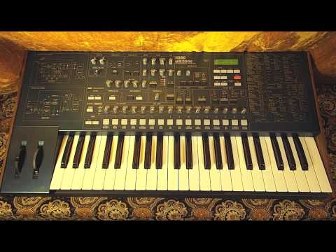 Korg MS2000 Synthesizer Factory Demo Songs