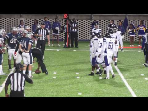 Blount Football Scores A Touchdown & 2 Pt Conversion vs Park Crossing Thunderbird Makes It 44 ~36 PC