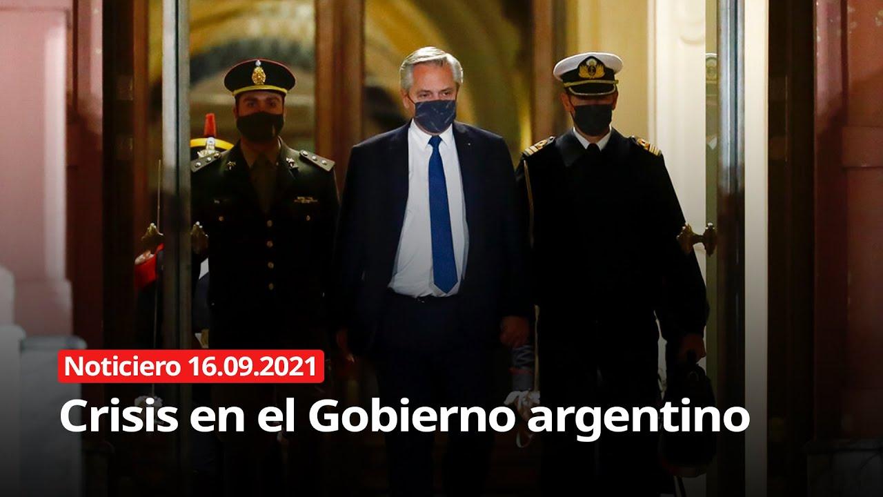 Download NOTICIERO 16/09/2021 - Crisis en el Gobierno argentino