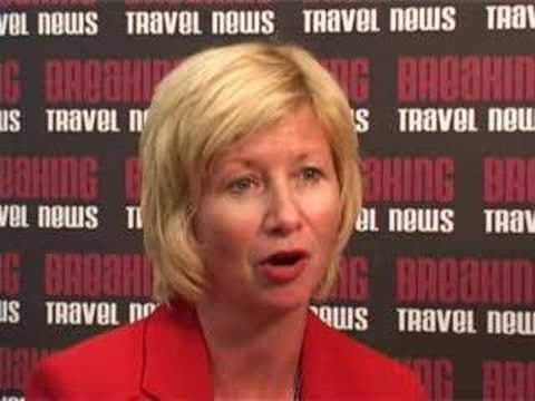 Janice Antonson, Vice President for Marketing, Nassau Airport Development Company @ CHA 2008