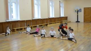 Открытый урок Акробатика младшая группа (25.05.15)