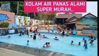 Wisata Air Panas Batu Kuwung, Serang, Banten