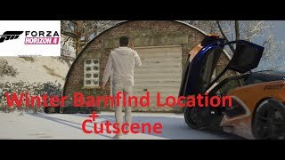 Forza Horizon 4-Winter Barnfind Location And Cutscene